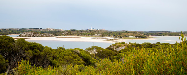 Panorama view of Rottnest Island.