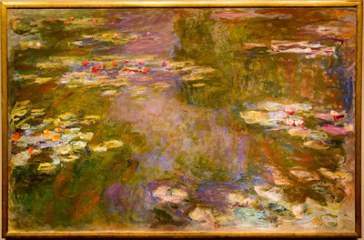 "Claude Monet's 1906 ""Water Lilies"""