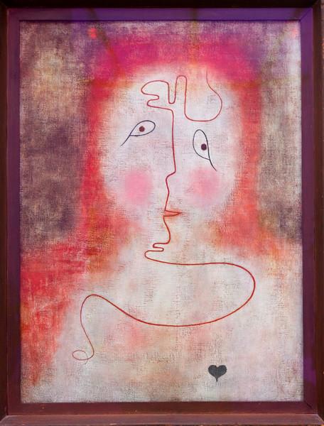 "Paul Klee: ""In the Magic Mirror, 1934"""