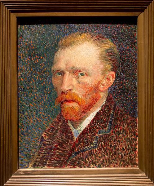 """Vincent van Gogh's 1886/7 """"Self Portrait"""""""