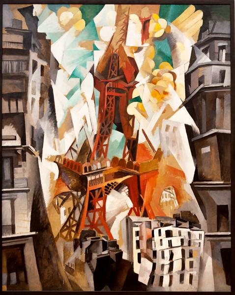 "Robert Delauney: ""Champs de Mars: The Red Tower,"" 1911/23"