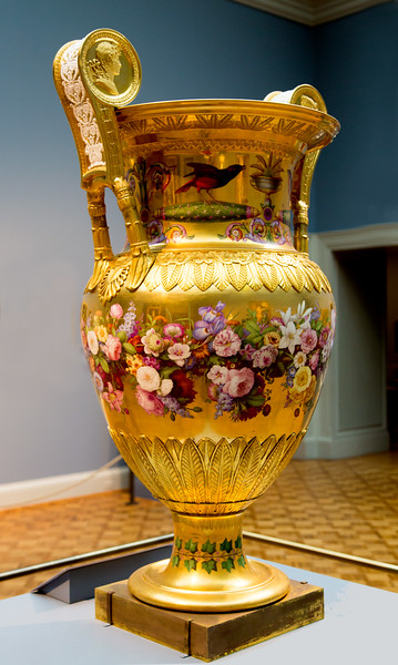 I love this huge ornate (and useless) vase.