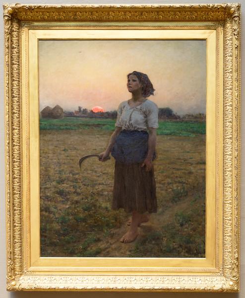 "Jules Breton's 1884 masterpiece, ""Song of the Lark"""
