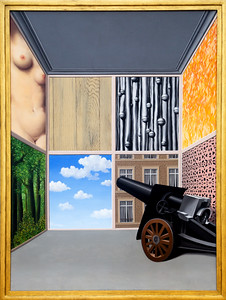 """Rene Magritte: """"On the Threshold of Liberty,"""" Feb-March, 1937"""