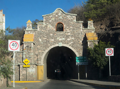 Now we visit Guanajuato -- an old mining city whose roads run in tunnels.