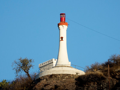 Light tower overlooking Guanajuato