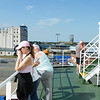 On the ferry at Hull