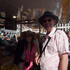 Mike and Tammy in the market in Bruges