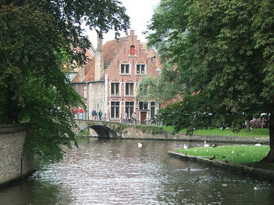 A walk and a boat trip in Bruges
