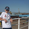 Alex on the ferry at Hull