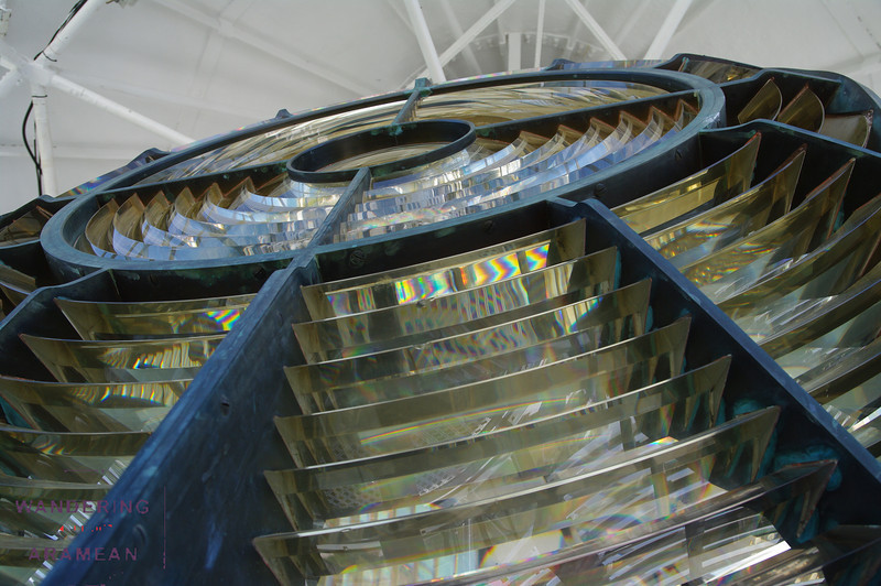 The rather amazing lens on the Gibbs' Hill  Lighthouse