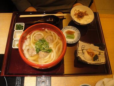 udon dinner