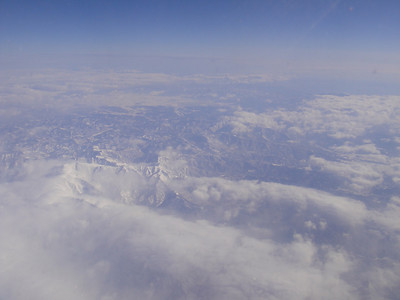 above northern Japan