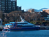 the Victoria Clipper.  this is a high-speed ferry that runs to Seattle....for walk-ons only...no cars