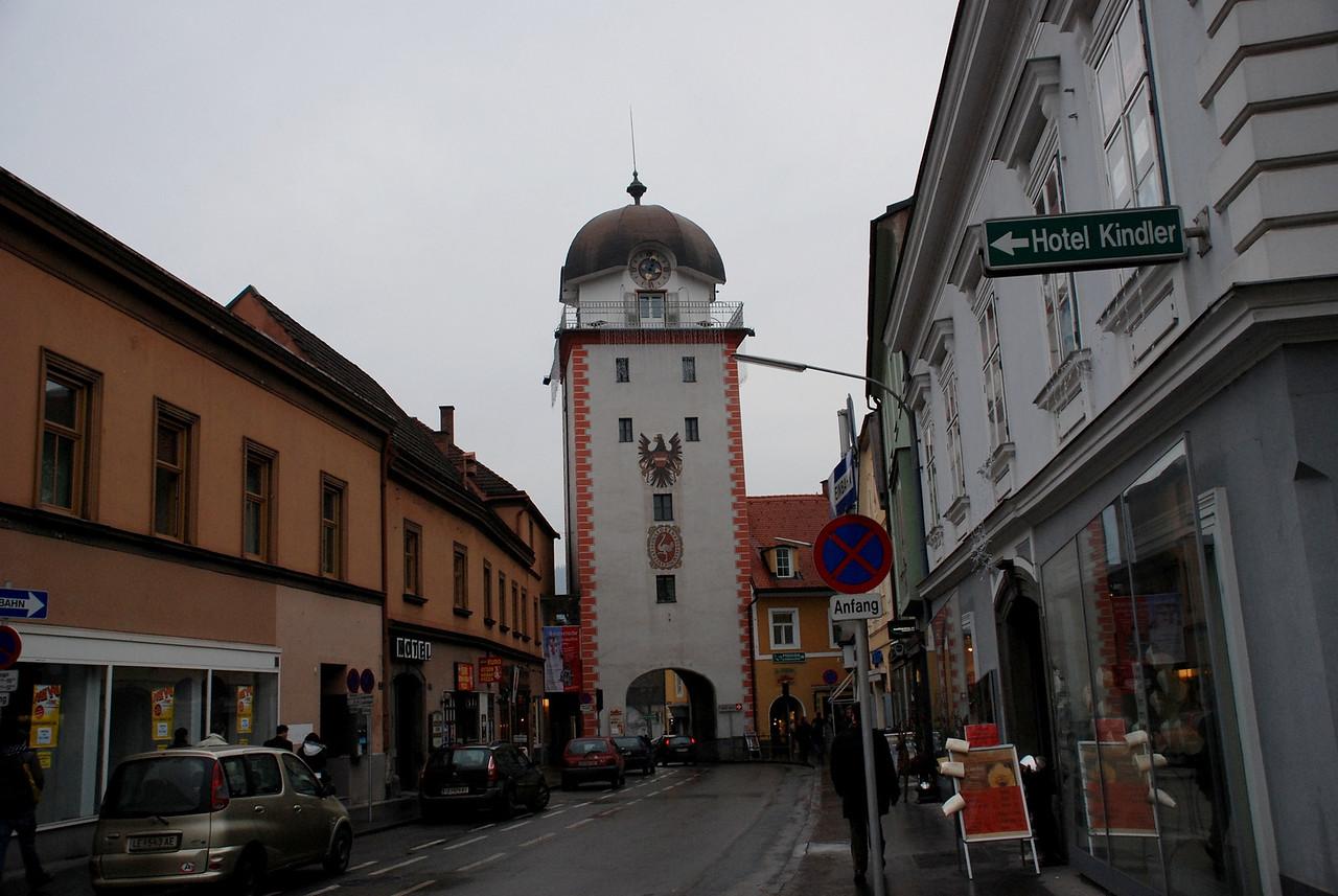 Leoben, the clock tower