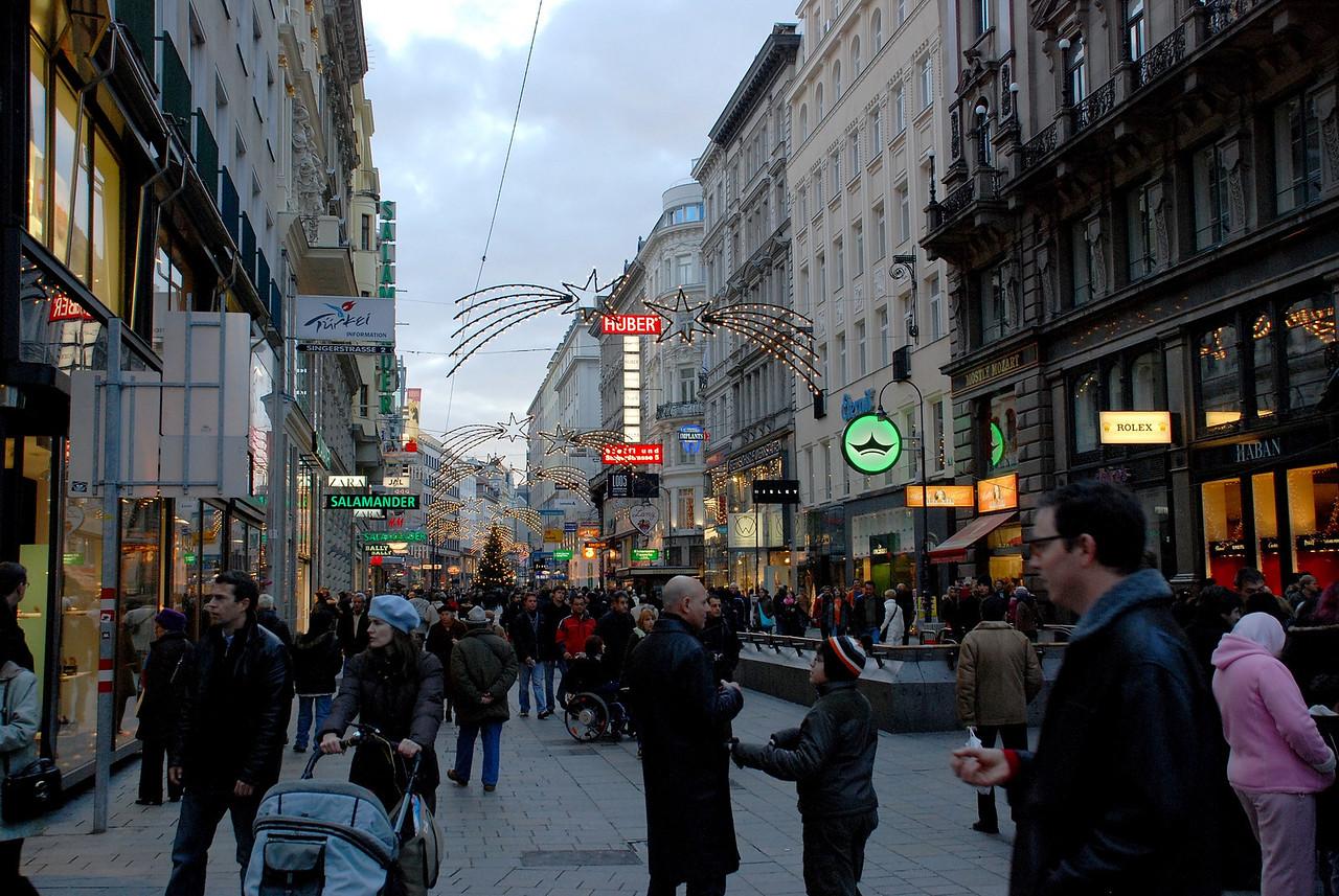 Vienna, X-mas mood, Dec. 3, 2007