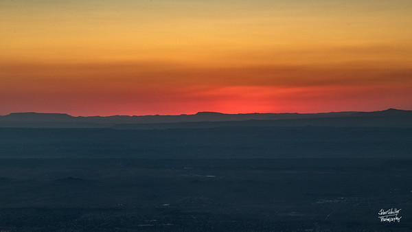 Shot at Sandia Peak in Albuquerque, NM in October 2017. © John Schiller Photography