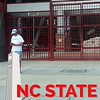 Checking out the NC State campus