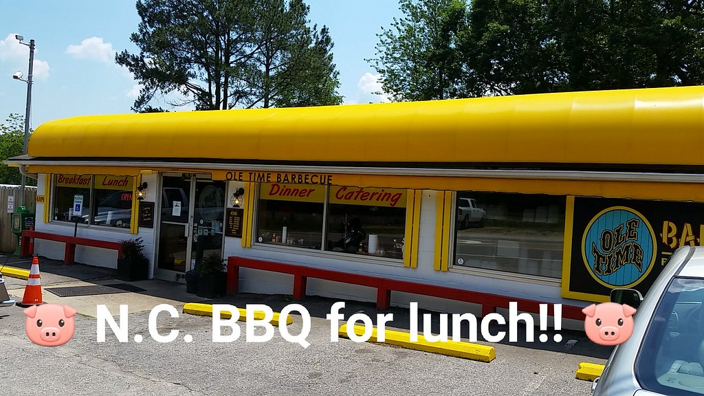 BBQ for lunch