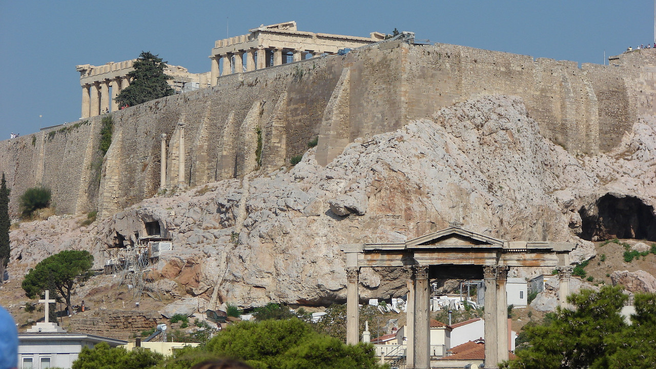 Acropolis from Hadrian's Arch