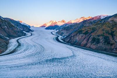 "DC_20160911_026 ""Sunrise on the Salmon Glacier"""