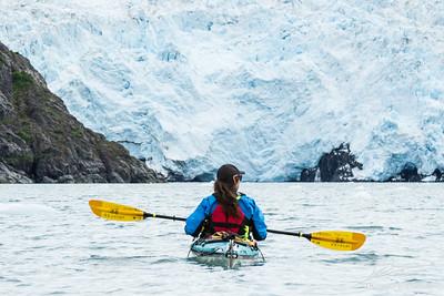 Paddling to the Beloit Glacier (Blackstone Bay, Alaska)