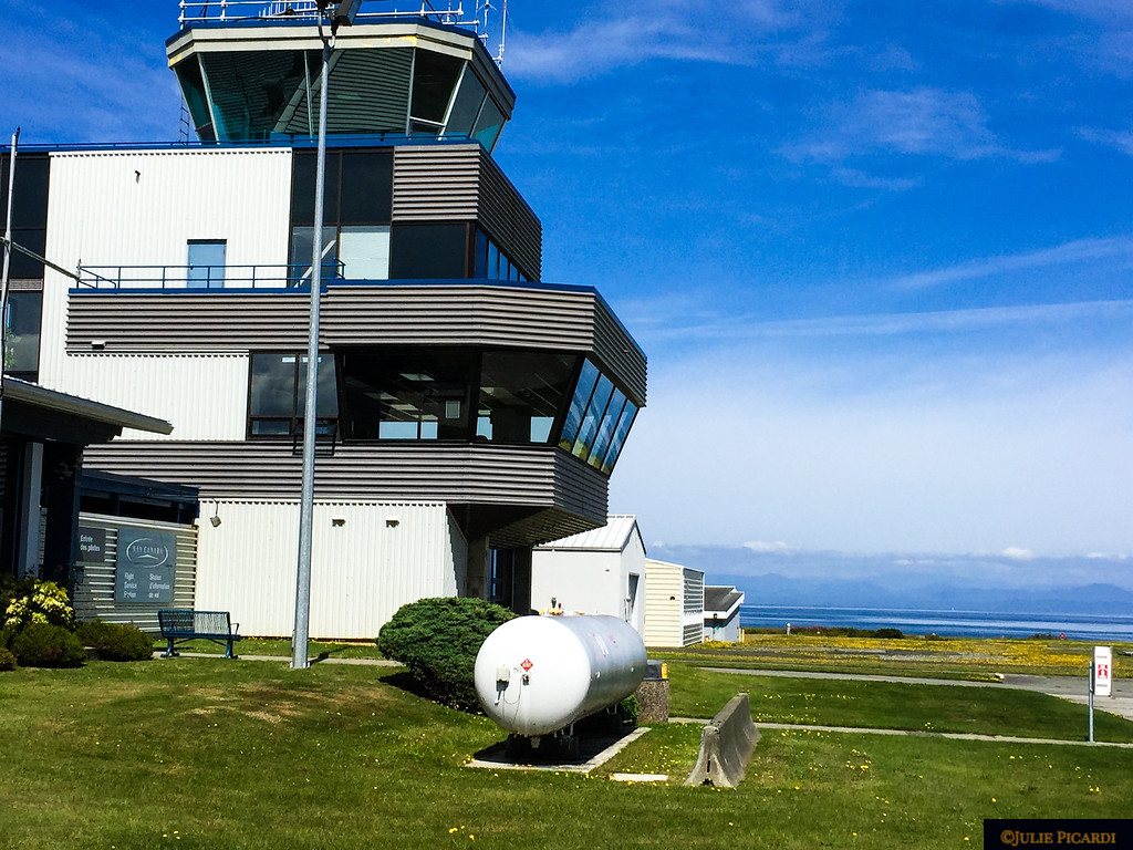 Air Controller tower at Port Hardy.