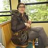 Nanda on the train