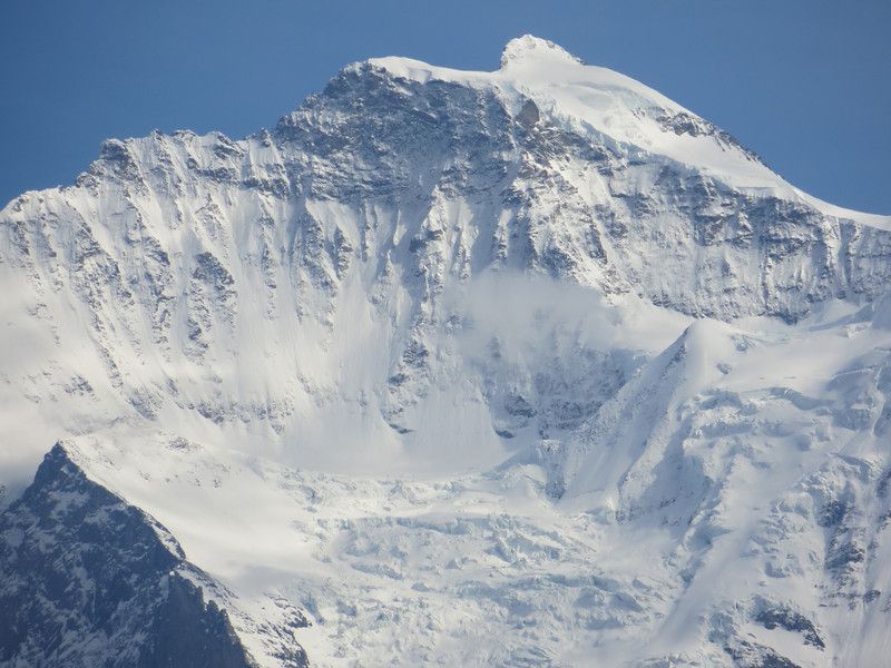 Mont Eiger from Interlaken, Switzerland