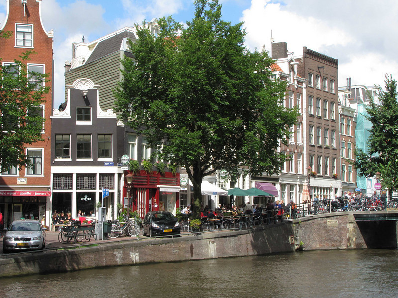 """44-Prinsengracht at Leliegracht (""""Lily ditch"""")"""