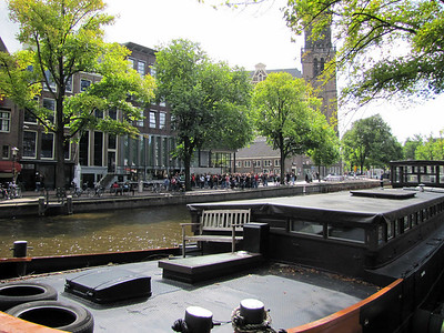 31-Queue at Anne Frank Museum on Prinsengracht