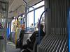 17-Inside the No. 5 tram on Leidsestraat.