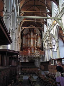 09-Old Church, the Great Organ, 1724