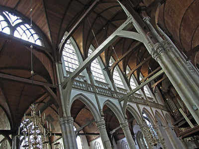 08-Old Church, nave. The largest vaulted wood ceiling in Europe