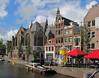 05-Old Church (Oude Kerk) from rampart of old city (Voorburgwal)