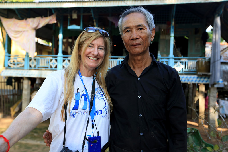 Betty meets Vietnamese soldier and are now friends.