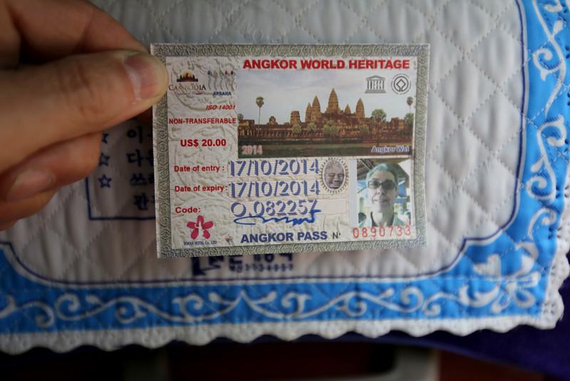 Ankor Wat Pass.