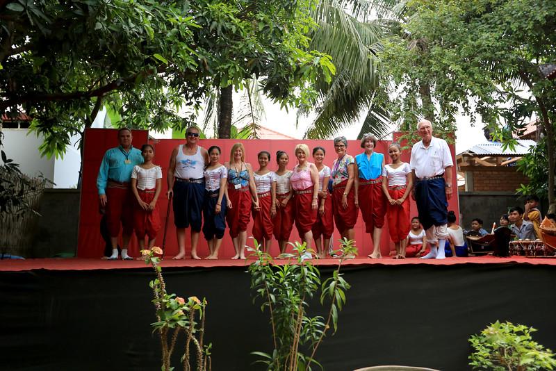 Dancing School (School of Arts) along with Vantage Deluxe World traveling dancers.