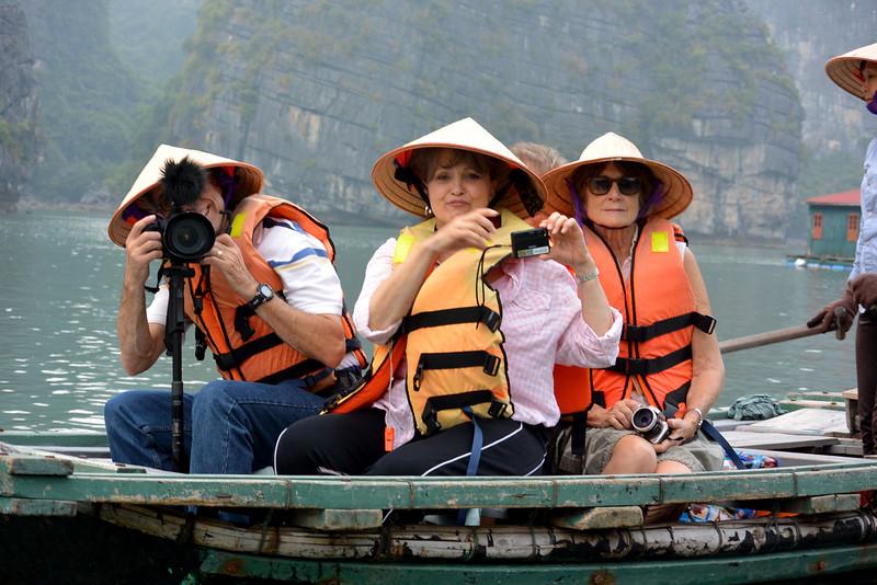 Halong Bay in Vietnam.