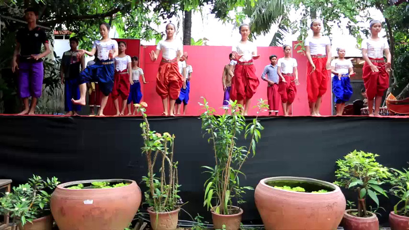 We were invited to attend a local Dance School (School of the Arts) located in Siem Reap, Cambodia. You'll learn the basic moves and see them dance. Check out their perfect balance.