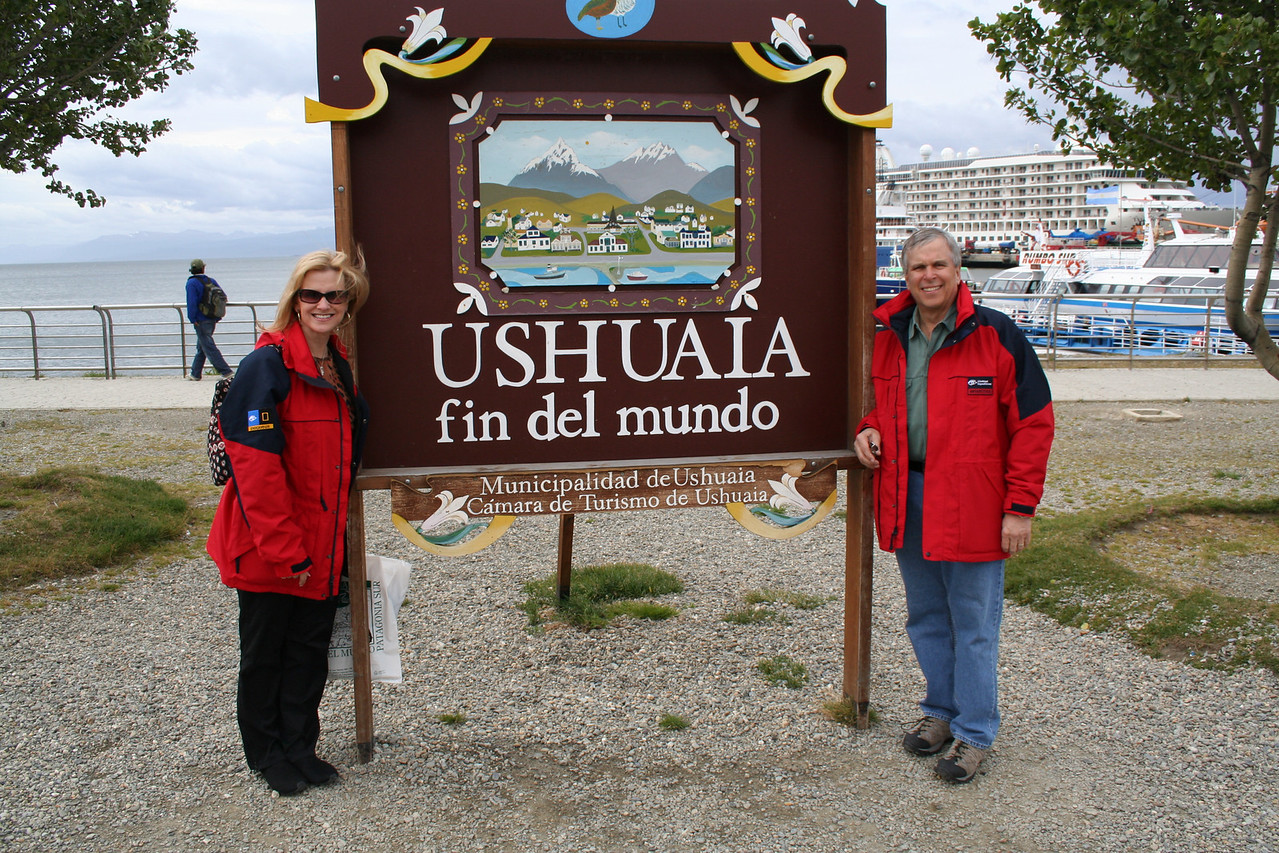 The End of the World - Ushuaia, Argentina