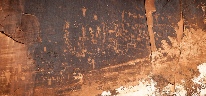 PICTOGRAPHS ALONG THE POTASH ROAD
