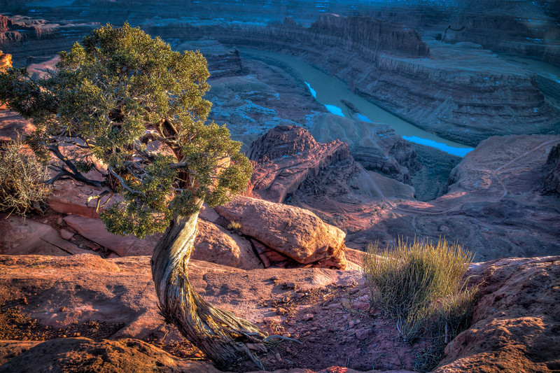 SUNSET -  DEAD HORSE POINT STATE PARK