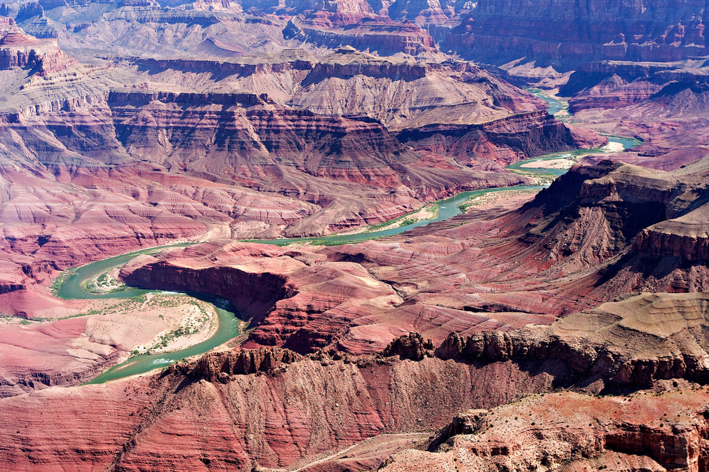 COLORADO RIVER IN DESERT VIEW