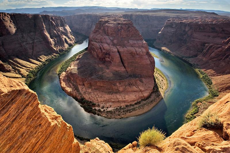 HORSESHOE BEND OF THE COLORADO RIVER, SOUTHWEST OF PAGE, AZ