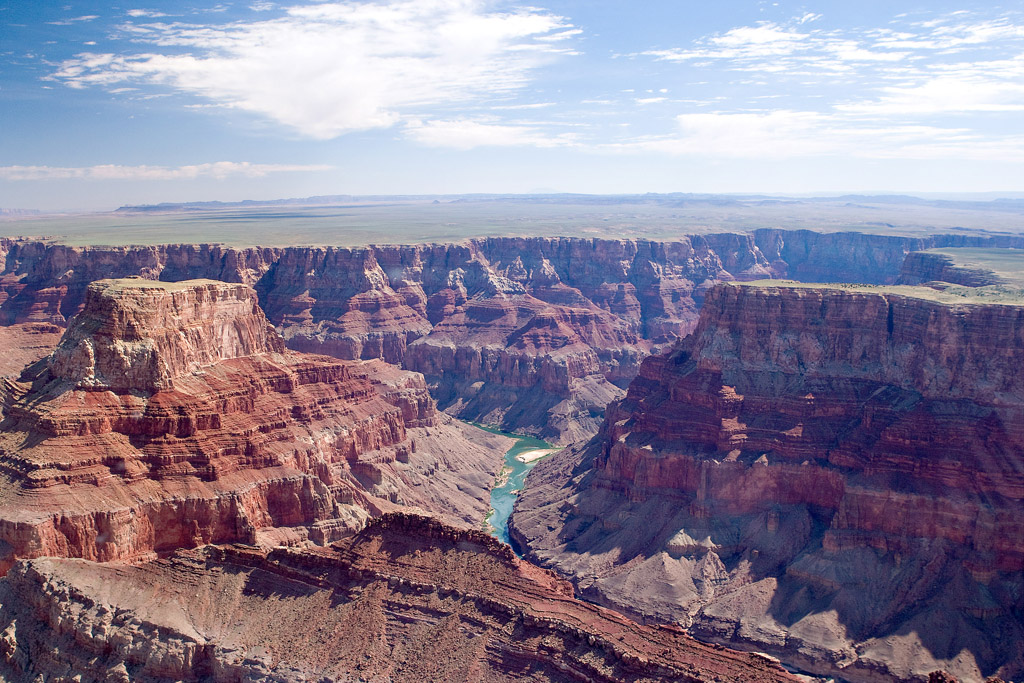EASTERN PORTION OF THE GRAND CANYON NEAR THE CONFLUENCE OF THE LITTLE COLORADO RIVER