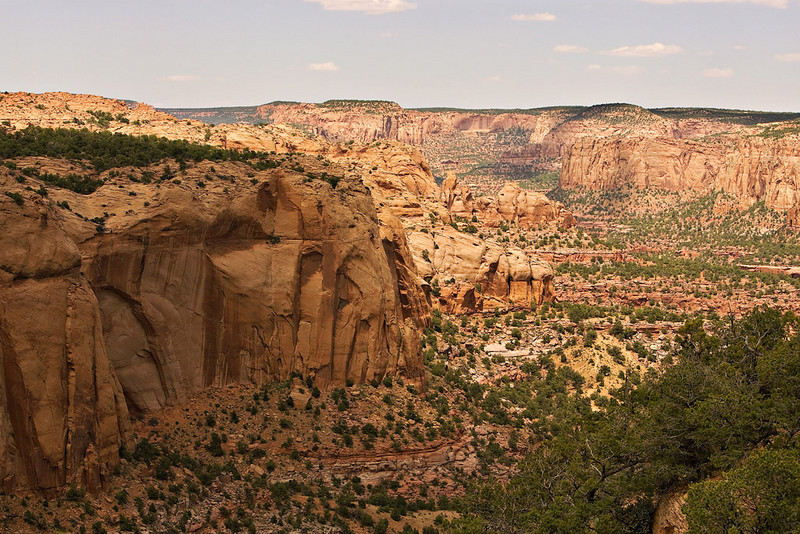 OVERLOOKING NAVAJO NATIONAL MONUMENT NEAR KAYENTA, AZ