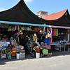 open air markets downtown Oranjestad