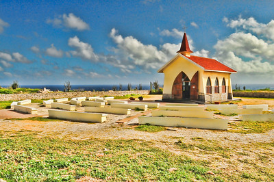 Alto Vista chapel on the island of Aruba