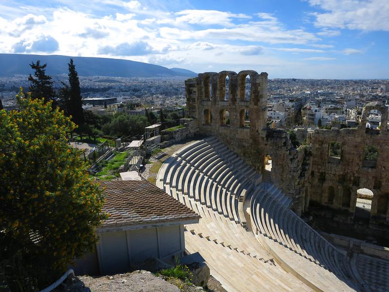 Odeon of Herodes Atticus, 161 CE